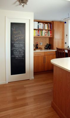 Chalkboard Pantry Door-