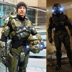 Art Master Chief Costume all-things-halo  sc 1 st  Pinterest & How to Make a Halo 4 Master Chief Costume | Pinterest | Halloween ...