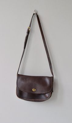 Coach saddle bag vintage brown Coach bag large by DearGolden Coach Saddle  Bag 308607730847c