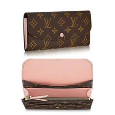 Emilie Wallet in Monogram Canvas and Rose Nacre | Louis Vuitton