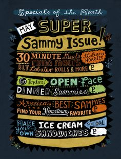 Rachael Ray : Linzie Hunter, Illustration & Hand Lettering