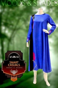 Moods and Shades Intelligent Casual Dresses | Wise Casual Summer Collection 2014 - FASHIONPAB | FASHIONPAB