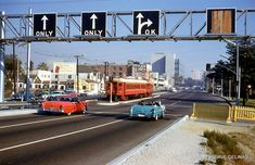 """, in the when Long Beach was still called """"Iowa by the Sea. Usa Street, Vintage Landscape, San Luis Obispo County, Los Angeles Area, History Photos, Train Tracks, The Good Old Days, Vintage Pictures, Long Beach"""