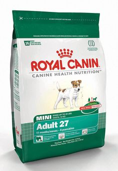 Royal Canin Dry Dog Food, Mini Adult 27 Formula, 15-Pound Bag ** Wow! I love this. Check it out now! : Dog food types