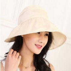 a1c023d379e UV Protection Adjustable Wide Brim Foldable Sun Hat