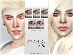 Realistic eyebags in 20 versions, all ages and genders. Found in TSR Category 'Sims 4 Female Skin Details' The Sims, Sims Cc, Sims 4 Cc Eyes, Queen Makeup, At Home Face Mask, Eye Wrinkle, Eye Makeup Art, Tumblr, New Skin