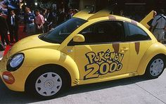 The Pikachu VW Beetle