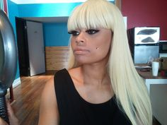Blac Chyna (Former Stripper Name: Lotion) was born on May 14, 1987 in Washington D.C. When she first began working she went by the name Lotion. One day among the guys she was dancing for said his nick name was Blac Chyna. She inquired if she could utilize that name herself and he jokingly said yes. A day later she came to work as Blac Chyna. In the video Nicki gives her a lap dance while she's tied to your seat along with her head covered by a tote. Drake mentioned her in a tune and her…