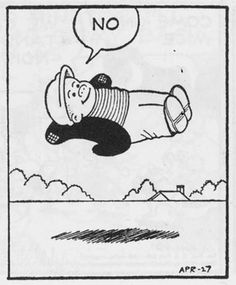 The most obscure single frame ever created for the Nancy comic strip.