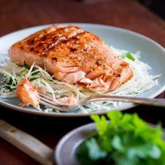Healthy Asian Glazed Salmon Recipe