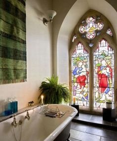glass stained windows