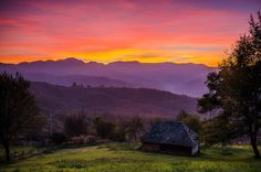 Ivanjica. Sunset. Spaces, Mountains, Sunset, Nature, Travel, Naturaleza, Viajes, Destinations, Sunsets