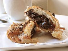 Nutella-filled Croissants