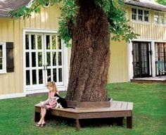 How To Build A Wrap-Around Tree Bench
