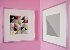 Modern Patchwork DIY Wall Art | Need some art for your walls? This easy wall art tutorial is the sophisticated solution you've been looking for!