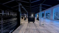 Exposição sobre Holocausto, que reproduz ambiente dos campos de concentração…