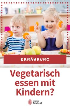 Ist eine vegetarische Ernährungsweise für ein Kind überhaupt geeignet? Und kann eine vegetarische Ernährung genug Nährstoffe für das kindliche Wachstum liefern? Baby, Children, Vegetarian Diets, Complete Nutrition, Food For Kids, Vegetarian Food, Vegetarian, Healthy Recipes, Young Children