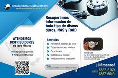 Recuperación de datos - Data recovery en México