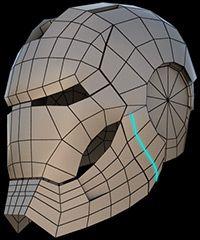 Model the Ironman Helmet - CGArena