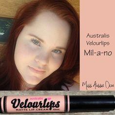 Australis Velourlips in MIL-A-NO from www.MissAussieDiva.com