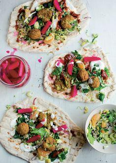 Falafel with Slaw and Yogurt