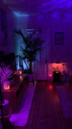 Neon Bedroom, Room Design Bedroom, Room Ideas Bedroom, Bedroom Decor, Neon Room Decor, Chill Room, Aesthetic Room Decor, Dream Rooms, Cool Rooms