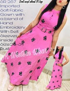 Indian Fashion Trends, Woman Clothing, Simple Dresses, Indian Dresses, Blouse Designs, Soft Fabrics, Kurti, Diy Gifts, Hand Embroidery