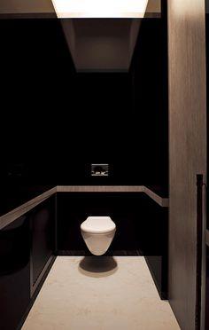 Горки-2 | Архитектурное бюро Екатерины Федорченко Master Bathroom Tub, Bathroom Tub Shower, Bathroom Toilets, Modern Bathroom, Washroom Design, Toilet Design, Toilet Plan, Shower Plumbing, Baths Interior