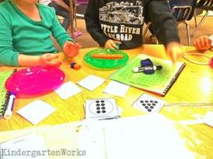 Whats the Difference - Subtraction Football Game - KindergartenWorks
