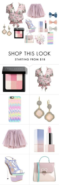 """Pastel Love"" by fire-flower7001 ❤ liked on Polyvore featuring Bobbi Brown Cosmetics, Karl Lagerfeld, Casetify, INC International Concepts, Olympia Le-Tan, Sephora Collection, Versace, Blugirl, women's clothing and women's fashion"