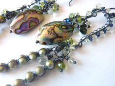OOAK Rainforest Artisan Oxidized Sterling by MelanieMiljan on Etsy, $188.00