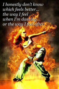 So true, I have been in a funk all week, felt like new person after Zumba tonight! Thank you ZUMBA