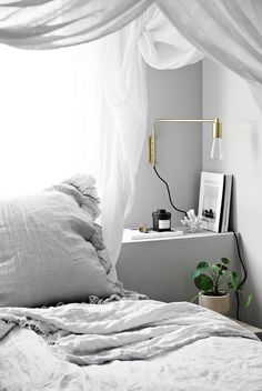 5 Most Simple Tips Can Change Your Life: Modern Minimalist Bedroom Closet minimalist decor living room small spaces.Minimalist Home Design Living Rooms minimalist bedroom decor awesome. Bedroom Apartment, Home Bedroom, Modern Bedroom, Bedroom Decor, Bedroom Small, Bedroom Lighting, Bedrooms, Parisian Apartment, Apartment Interior