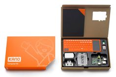 Kano Kit What's Kano? It's a computer and coding kit, designed for all ages, all over the world. Lego simple, Raspberry Pi powerful, and hugely fun. Make Your Own Computer, Computer Build, Gaming Computer, Computer Works, Computer Coding, Computer Setup, Small Computer, Raspberry Pi Computer, Steve Wozniak