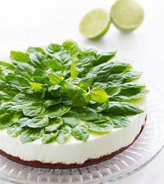 Vaniljainen Mojito-juustokakku - Reseptit - Keksihylly