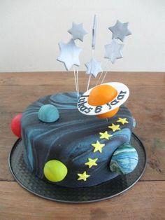6th Birthday Cakes, Boys 1st Birthday Party Ideas, 1st Boy Birthday, Solar System Cake, Sofia Cake, Chocolat Cake, Planet Cake, Ladybug Cakes, Galaxy Cake