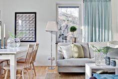 Tonuri naturale de culoare într-un apartament de 3 camere cu o suprafață de numai 60 m²