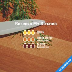 Refresh My Kitchen essential oil diffuser Essential Oils Guide, Essential Oils Cleaning, Essential Oil Uses, Doterra Essential Oils, Young Living Essential Oils, Sleepy Essential Oil Blend, Yl Oils, Essential Oil Diffuser Blends, Diffuser Recipes