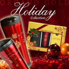 Ring in The Holidays With these great gifts to everyone who enjoys a great healthy cup of coffee! A great present under the Tree!!! www.globaltouch.organogold.com