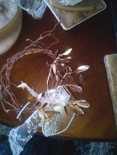 Ξυλινο στεφακι με κλαδι ελιας Crown, Jewelry, Corona, Jewlery, Jewerly, Schmuck, Jewels, Jewelery, Crowns