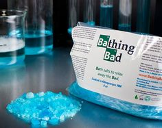 Breaking Bad Blue Bath Salts