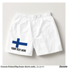 Custom Finland flag boxer shorts underwear for men - Dashing Cotton Underwear And Sleepwear By Talented Fashion And Graphic Designers - #underwear #boxershorts #boxers #mensfashion #apparel #shopping #bargain #sale #outfit #stylish #cool #graphicdesign #trendy #fashion #design #fashiondesign #designer #fashiondesigner #style