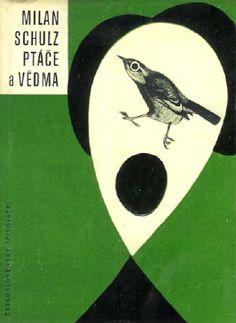 Ptáče a vědma, cover & binding by Stepan Bohumil, 1964. @designerwallace