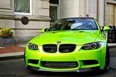 Neon Green BMW 3 Series