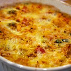 Spagetti Squash Pasta Bake