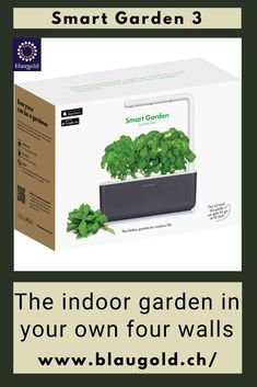 Color=Gray     Description  Do you like to cook with fresh herbs but are not blessed with a green thumb? Or do you simply lack the time to give the plants the necessary care? Then the Smart Garden 3 from Click & Grow might be a good fit for you, because  it takes care of your plants almost independently! It's easy: Place the capsules in the Smart Garden Connect Smart Garden to electricity Give water once every 2-3 weeks and of course harvest. #instagarden #gardeners #gardenlove