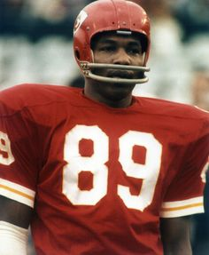 Before I was a Broncos fan, I was a Chiefs fan (we used to live in Kansas City) and Otis Taylor was my favorite player. In high school, I wore for two years because of him. Kansas City Chiefs Football, American Football League, Nfl Football Players, Football Memes, National Football League, Nfl Chiefs, Vikings Football, Giants Football, American Football