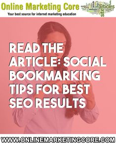 Social Bookmarking Tips For best SEO results Internet Marketing, Online Marketing, Bookmarking Sites, What Is Social, Website Names, Yellow Pages, First Site, Seo Strategy, Best Seo