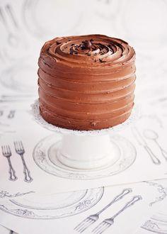 6-LAYER BELGIAN CHOCOLATE & TOASTED MARSHMALLOW CAKE
