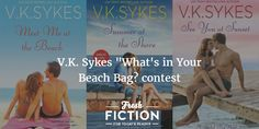 Heat up your summer nights with the sexy heroes of Seashell Bay! V.K. Sykes is giving away all three books in the Seashell Bay Series of small town romances set on a pretty little island off the coast of Maine. Two readers will win print copies of all three books in this critically acclaimed series!